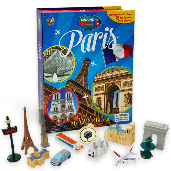 My Busy Books : Around the World : Paris (Hardcover)