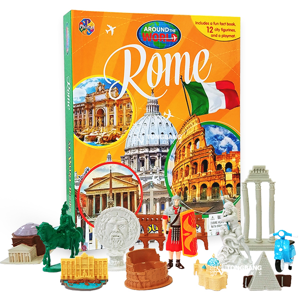 My Busy Books : Around the World : Rome (Hardcover)