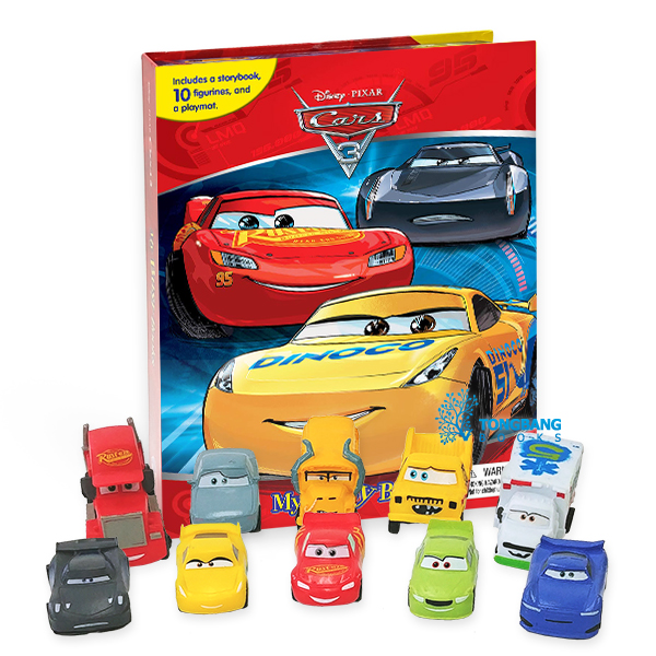 My Busy Books : Cars 3 (Board book)