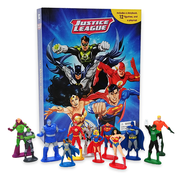 My Busy Books : DC Justice League (Hardcover)