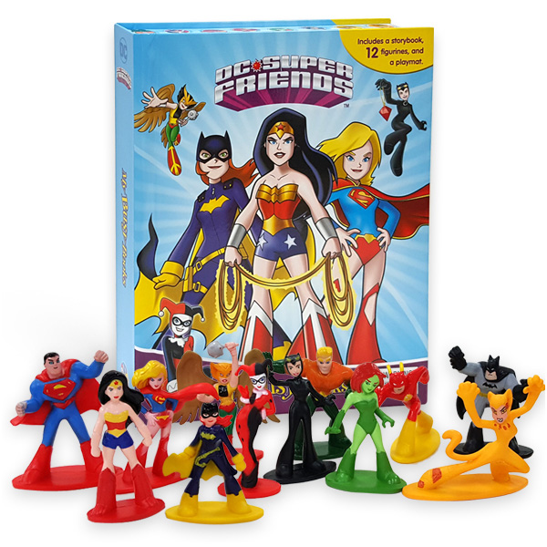 My Busy Books : DC Super Friends Girls (Hardcover)