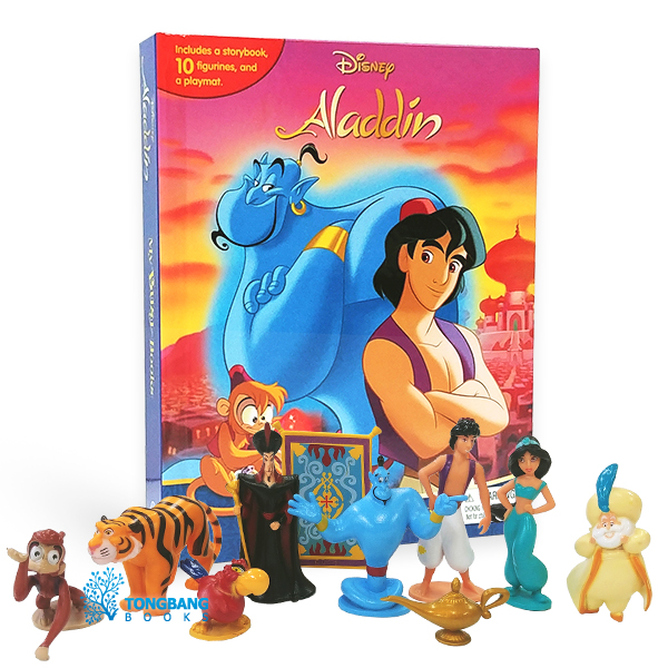 My Busy Books : Disney Aladdin (Board book)