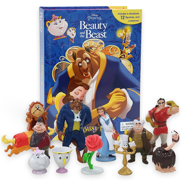My Busy Books : Disney Beauty and the Beast (Board book)