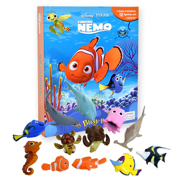 My Busy Books : Disney Finding Nemo (Hardcover)