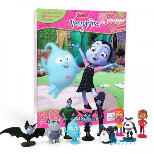 My Busy Books : Disney Jr. Vampirina (Board Book)