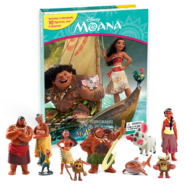 My Busy Books : Disney Moana (Board book)