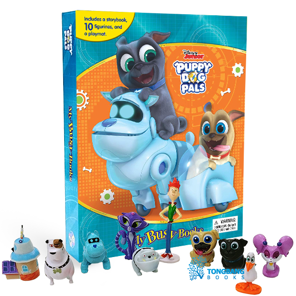 My Busy Books : Disney Puppy Dog Pals (Board book)
