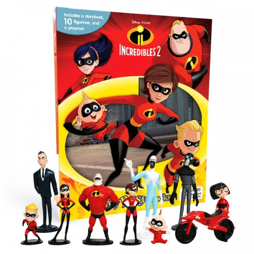 My Busy Books : Disney The Incredibles 2 (Hardcover)