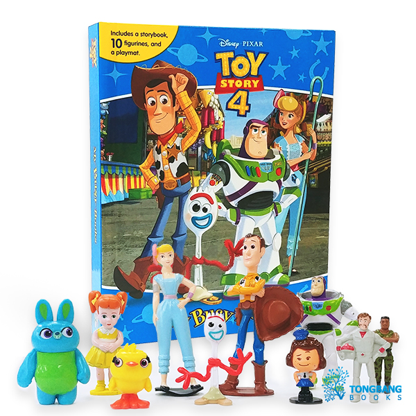 My Busy Books : Disney Toy Story 4 (Board book)