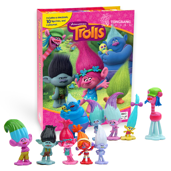 My Busy Books : DreamWorks Trolls (Hardcover)