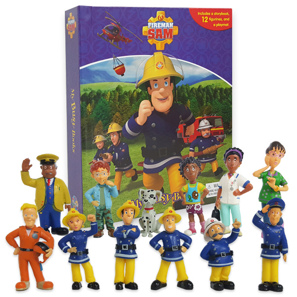 My Busy Books : Fireman Sam (Hardcover)
