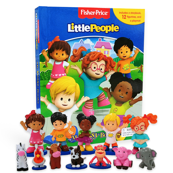 My Busy Books : Fisher Price Little People (Hardcover)