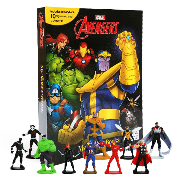 [베스트★]  My Busy Books : Marvel Avengers Infinity War (Board book)