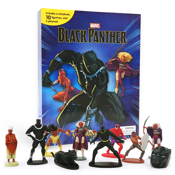 My Busy Books : Marvel Black Panther (10 figures/Hardcover)