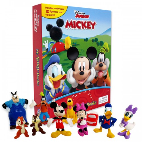 My Busy Books : Mickey Mouse Clubhouse (Board book)