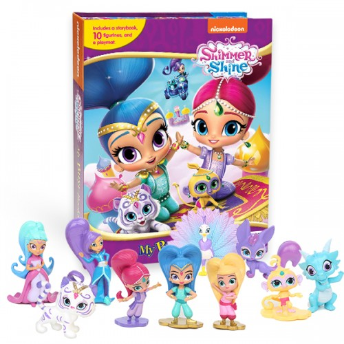 My Busy Books : Shimmer and Shine (Board book)