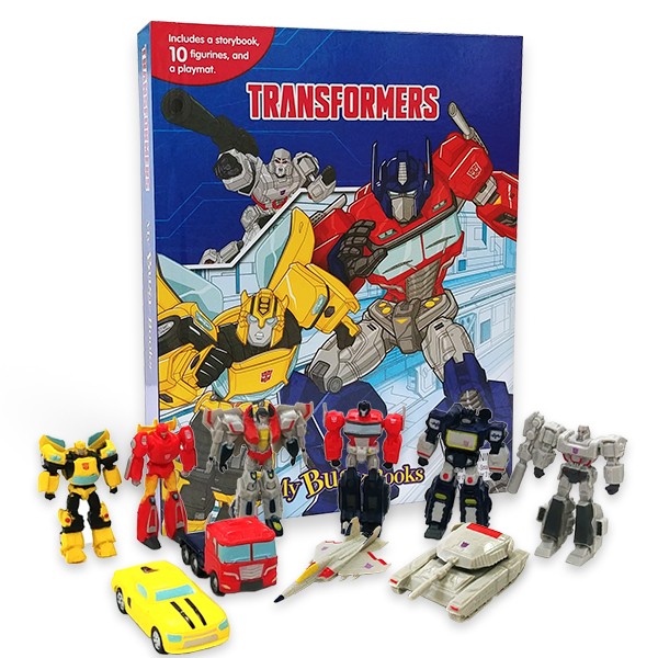 My Busy Books : Transformers (Hardcover)