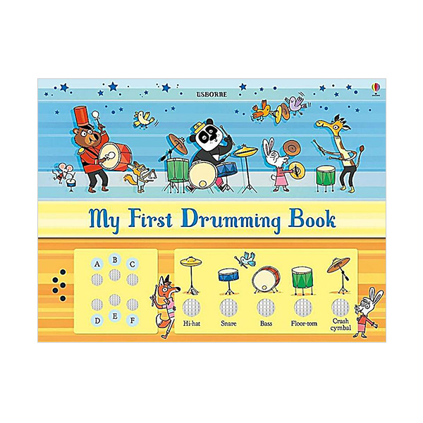 My First Drumming Book (Hardcover, Sound Book, 영국판)