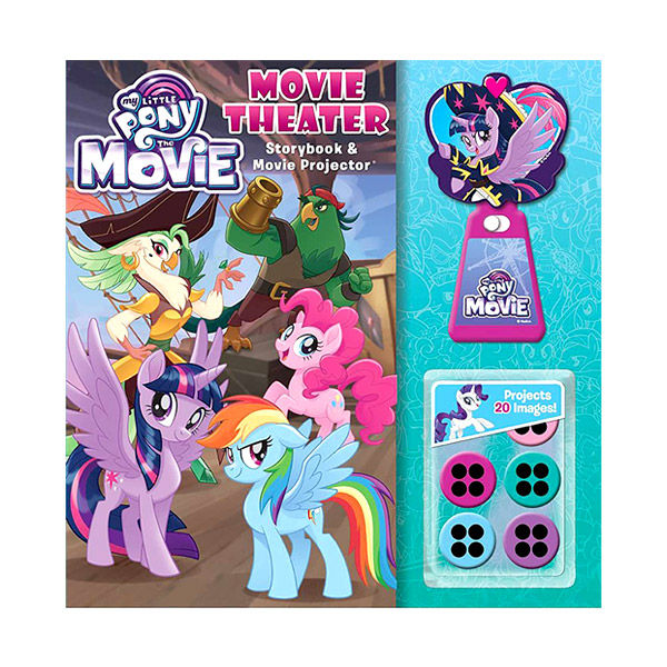 My Little Pony: The Movie: Movie Theater Storybook & Movie Projector (Hardcover)