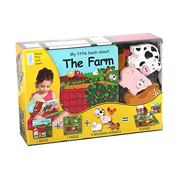 My Little Village : My Little Farm (Hardcover+Toys)