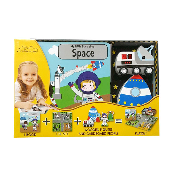 My Little Village : My Little Space Station New (Hardcover+Toys)
