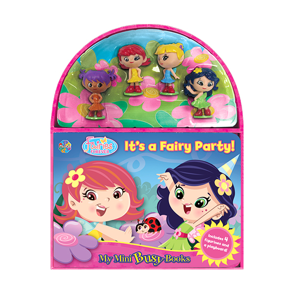My Mini Busy Books : It's a Fairy Party! (Hardcover)