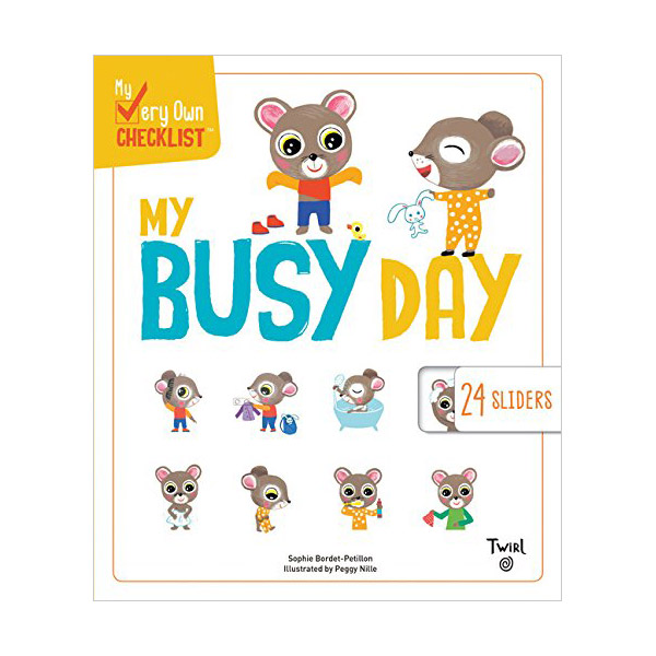 My Very Own Checklist : My Busy Day (Hardcover)