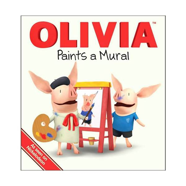 Olivia Paints a Mural (Hardcover)