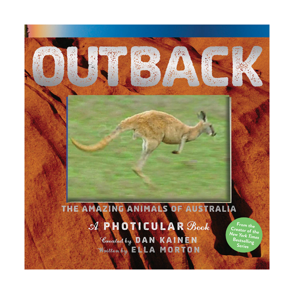 Outback : The Amazing Animals of Australia : A Photicular Book (Hardcover)