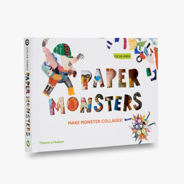 Paper Monsters : Make Monster Collages! (Hardcover, 영국판)