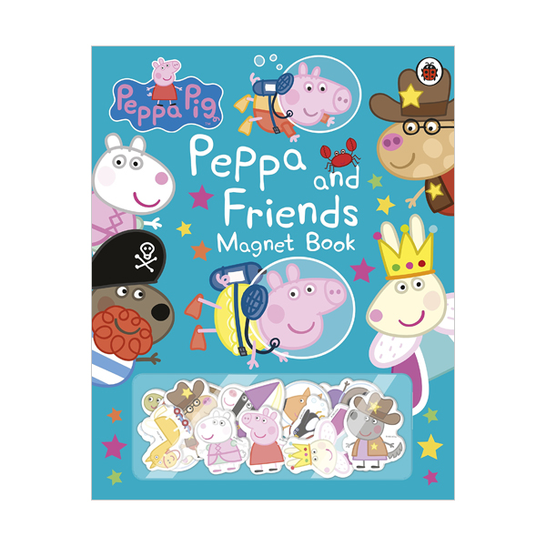 ★키즈코믹콘★Peppa Pig : Peppa and Friends Magnet Book (Hardcover, 영국판)