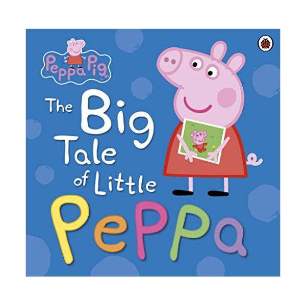 ★키즈코믹콘★Peppa Pig : The Big Tale of Little Peppa (Hardcover, 영국판)