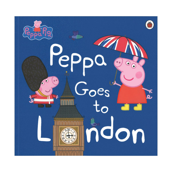 ★키즈코믹콘★Peppa Goes To London (Paperback)