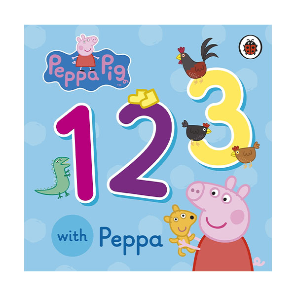 ★사은품증정★Peppa Pig : 123 with Peppa (Board book)