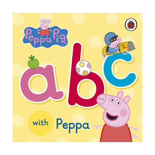 ★키즈코믹콘★Peppa Pig : ABC with Peppa (Board book)