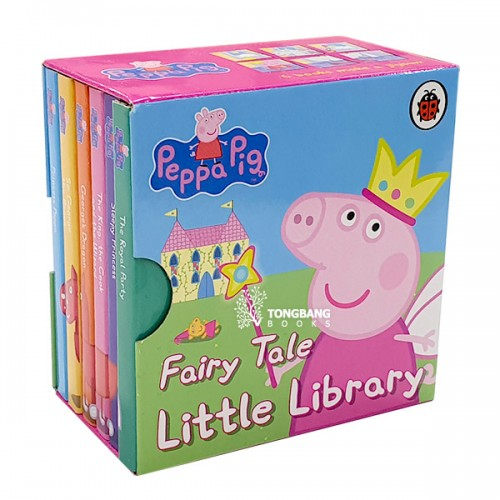 ★키즈코믹콘★Peppa Pig : Fairy Tale Little Library (Mini Board book, 6종, 영국판) (CD미포함)