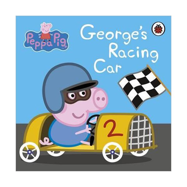 Peppa Pig : George's Racing Car (Board book)