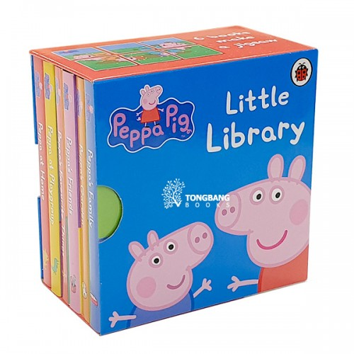 Peppa Pig : Little Library (Mini Board Book, 6종, 영국판) (CD미포함)