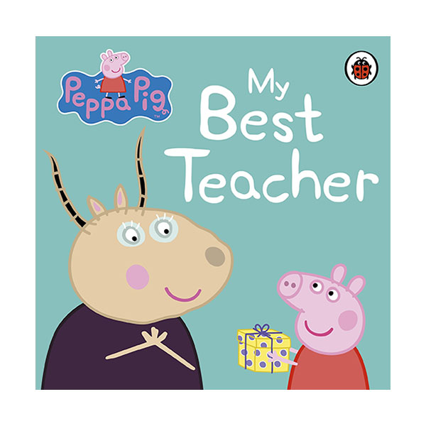 Peppa Pig : My Best Teacher (Board Book, 영국판)