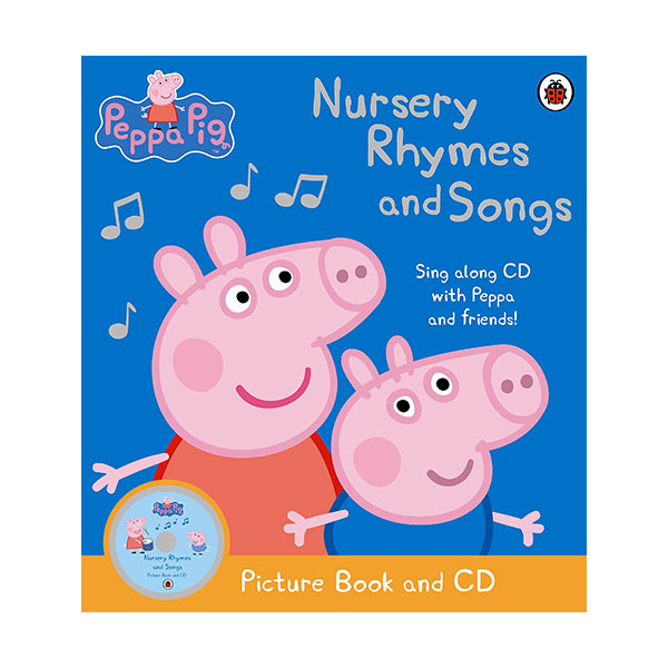 Peppa Pig : Nursery Rhymes and Songs (Book & CD)