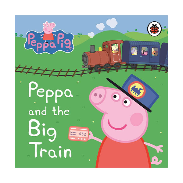★사은품증정★Peppa Pig : Peppa and the Big Train : My First Storybook (Board Book, 영국판)