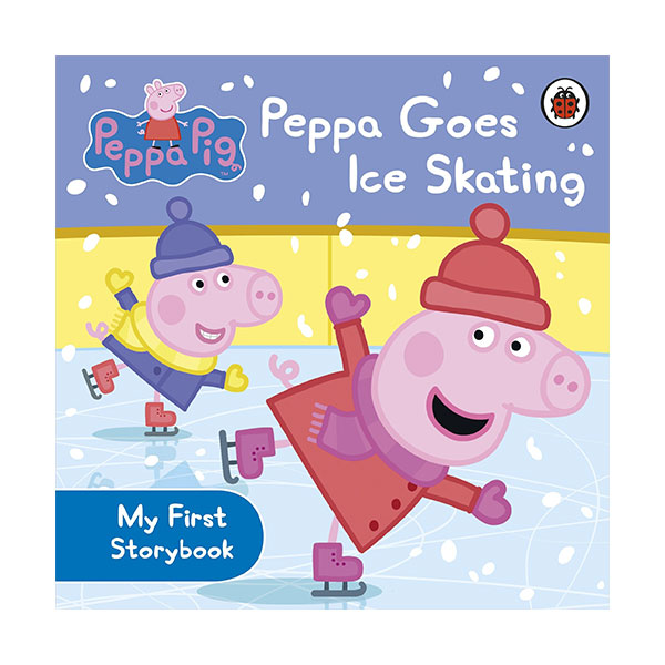 ★사은품증정★Peppa Pig : Peppa Goes Ice Skating (Board Book)