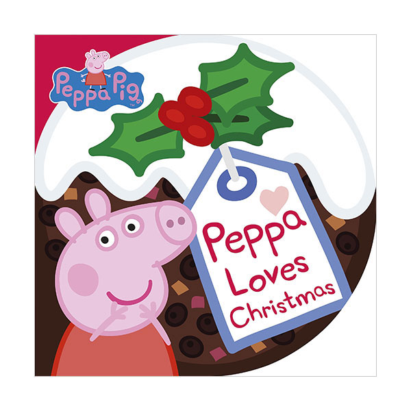 ★키즈코믹콘★Peppa Pig : Peppa Loves Christmas (Board Book)