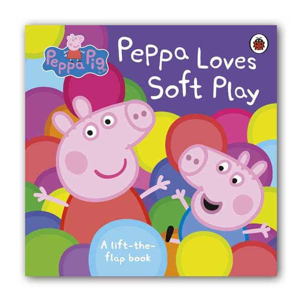 ★키즈코믹콘★Peppa Pig : Peppa Loves Soft Play (Board book, 영국판)