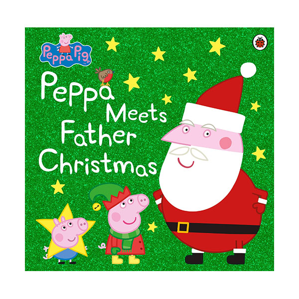 ★키즈코믹콘★Peppa Pig : Peppa Meets Father Christmas (Paperback, 영국판)