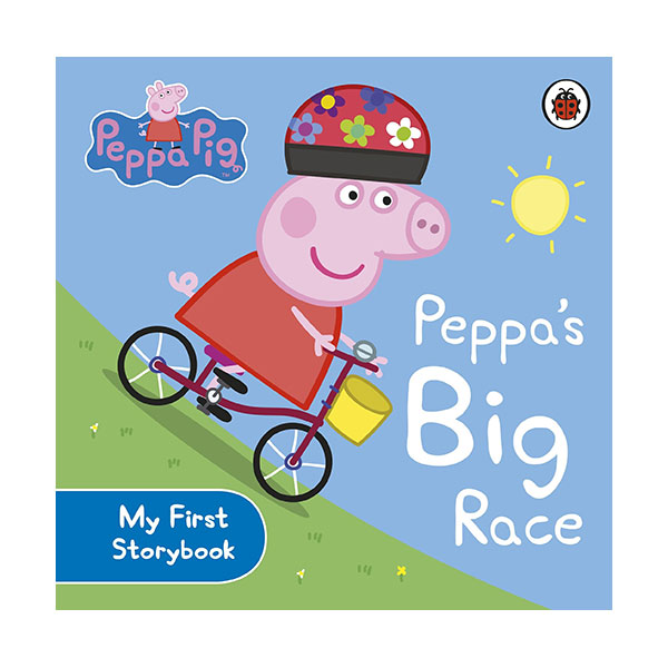 ★사은품증정★Peppa Pig : Peppa's Big Race : My First Storybook (Board Book, 영국판)
