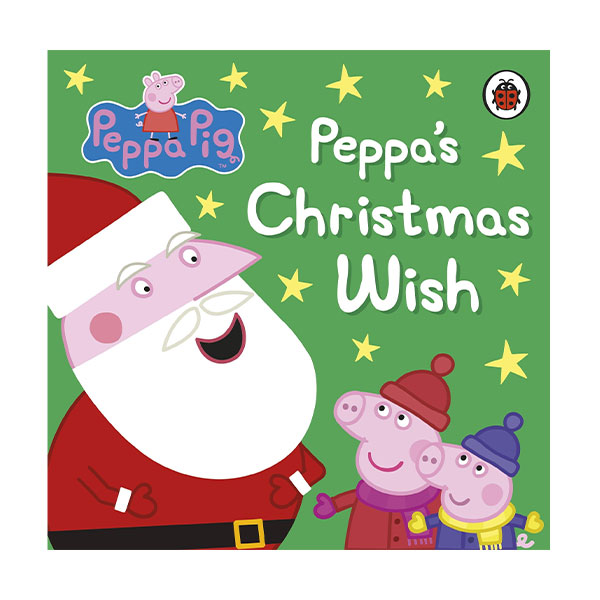 ★사은품증정★Peppa Pig : Peppa's Christmas Wish (Board book, 영국판)