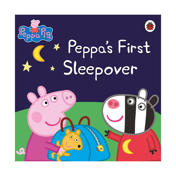 Peppa Pig : Peppa's First Sleepover (Paperback)