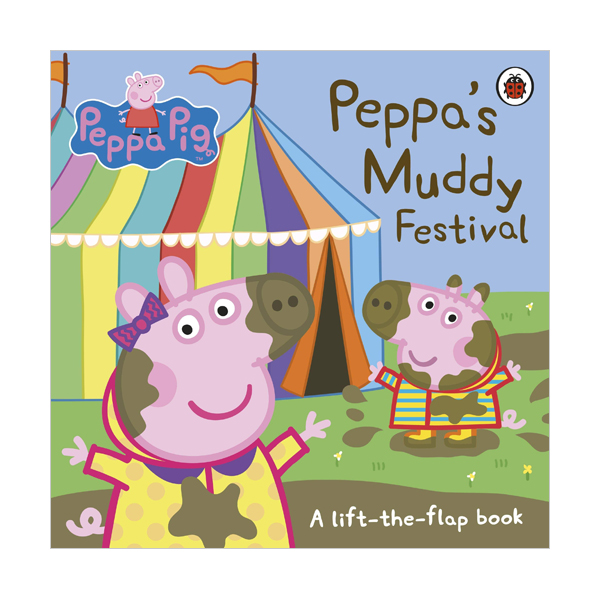 ★키즈코믹콘★Peppa Pig : Peppa's Muddy Festival (Board book, 영국판)