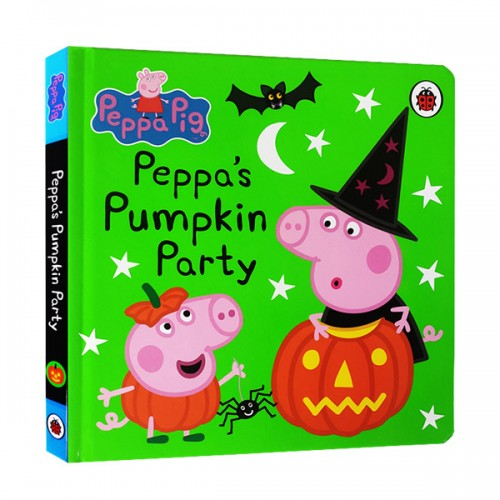 ★키즈코믹콘★Peppa Pig : Peppa's Pumpkin Party (Board book, 영국판)